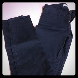 Abercrombie and Fitch blue soft jean-size 0
